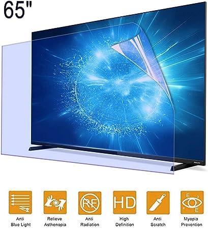 ZSLD Película De Protección De Pantalla De TV De 65 Pulgadas Película De Protección Antideslumbrante/Película De Luz Azul con Make The Light Soft Relieve Eye Strain, para LCD LED,56.25 * 31.65 Inch: