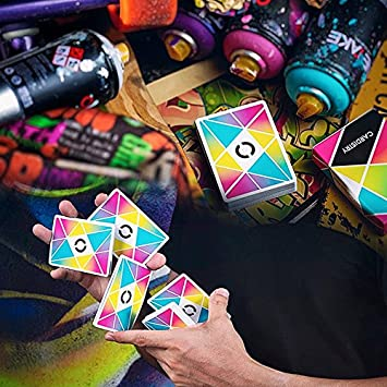 SOLOMAGIA Cardistry Playing Cards - Colour - Deck of Cards ...