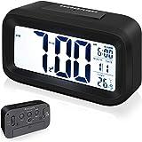 Annsky Despertador Digital, LCD Pantalla Reloj Alarma ...