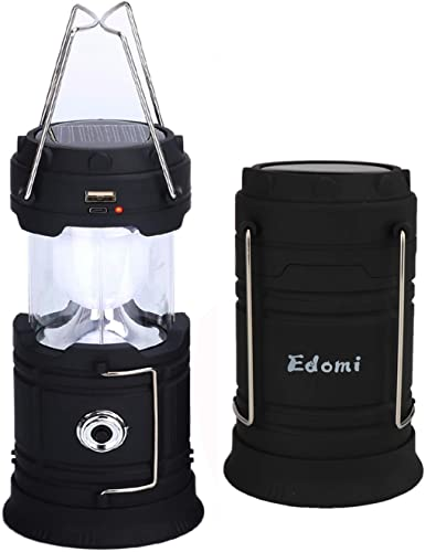 JAMIEWIN 3 in 1 Led Camping Lantern Rechargeable, Lantern Flashlight with 6 Modes, 4000mAh Power Bank Waterproof Camping Lights Torch for Hiking Exploration Hurricane Emergency Outdoor Indoor