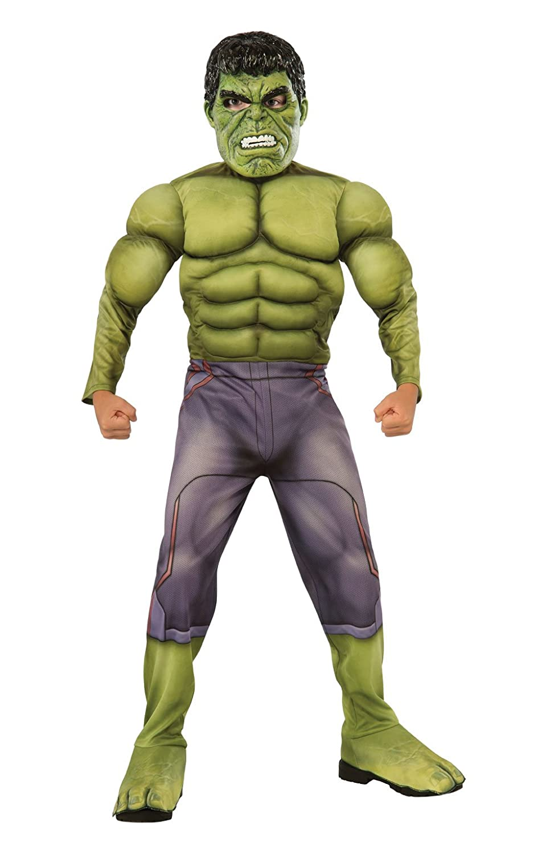 Hulk - Disfraz Ragnarok Premium infantil, M (Rubies Spain 640098-M)