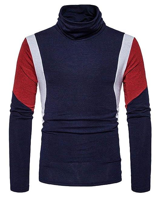 Jersey De Punto Jersey De Cuello Alto Otoño Ropa Invierno Camiseta Sudadera  De Punto Jersey De aae48dfa6f1d