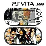 Decorative Video Game Skin Decal Cover Sticker for Sony PlayStation PS Vita Slim (PCH-2000) - Bleach Ichigo