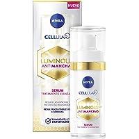 NIVEA Cellular LUMINOUS 630 Antimanchas Sérum Tratamiento Avanzado (1 x 30 ml), sérum facial con ácido hialurónico…
