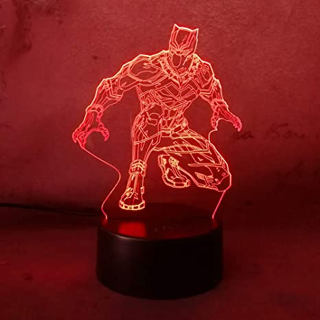 Led Night Lights Lights & Lighting Cheap Price Cool Transformers 3d Night Light Baby Bedroom Sleeping Lamp 7 Color Changing 3d Iron Man Atmosphere Led Desk Table Lamp Boy Gift