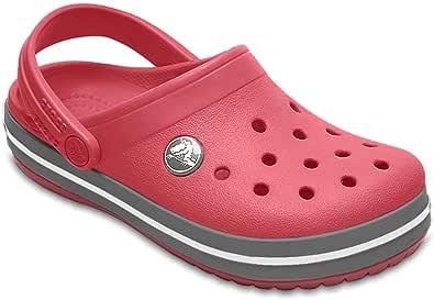 Crocs Unisex Kids Crocband Clog, Ultraviolet/White, C10 US