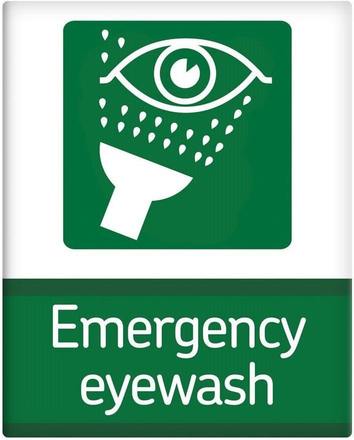 Lavaojos de emergencia médica seguridad Metal Sign 10x 8