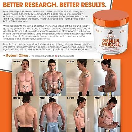 Genius Muscle Builder – Best Natural Anabolic Growth Optimizer for Men &  Women | True
