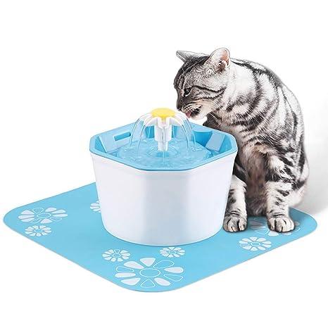 Amazon.com: YUIOP - Fuente para mascotas (1,6 L, alimentador ...