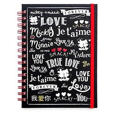 Disney Mickey and Minnie Mouse Journal - ''I Love Mickey'' Collection by Disney
