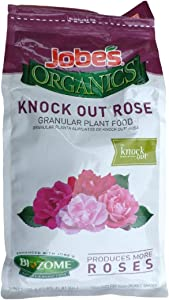 Jobe's 9445 Organics Knock Out Granular Rose Fertilizer, 4 lb