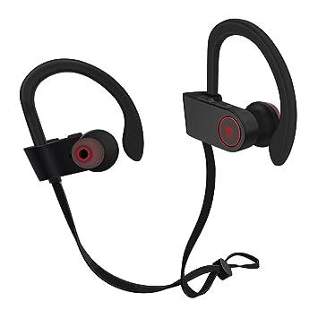 Inalámbrica Bluetooth auriculares para correr lexgo deportes auricular inalámbrico auriculares deportivos Bluetooth 4.1 a Prueba de Sudor Auriculares con ...