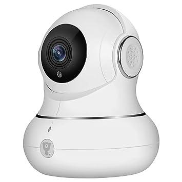 Cámara IP Full HD Littlelf, Cámara de Vigilancia Exterior e Interior, Inalámbrica, Monitor
