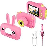ETPARK Cámara Fotos Infantil, Cámara para Niños de 2.0 Pulgadas Cámara Infantil con 12MP HD 1080P Video Recorder Y Mini…