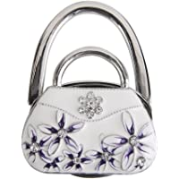 Artificial Diamond Folding Handbag Purse Hook Hanger Holder