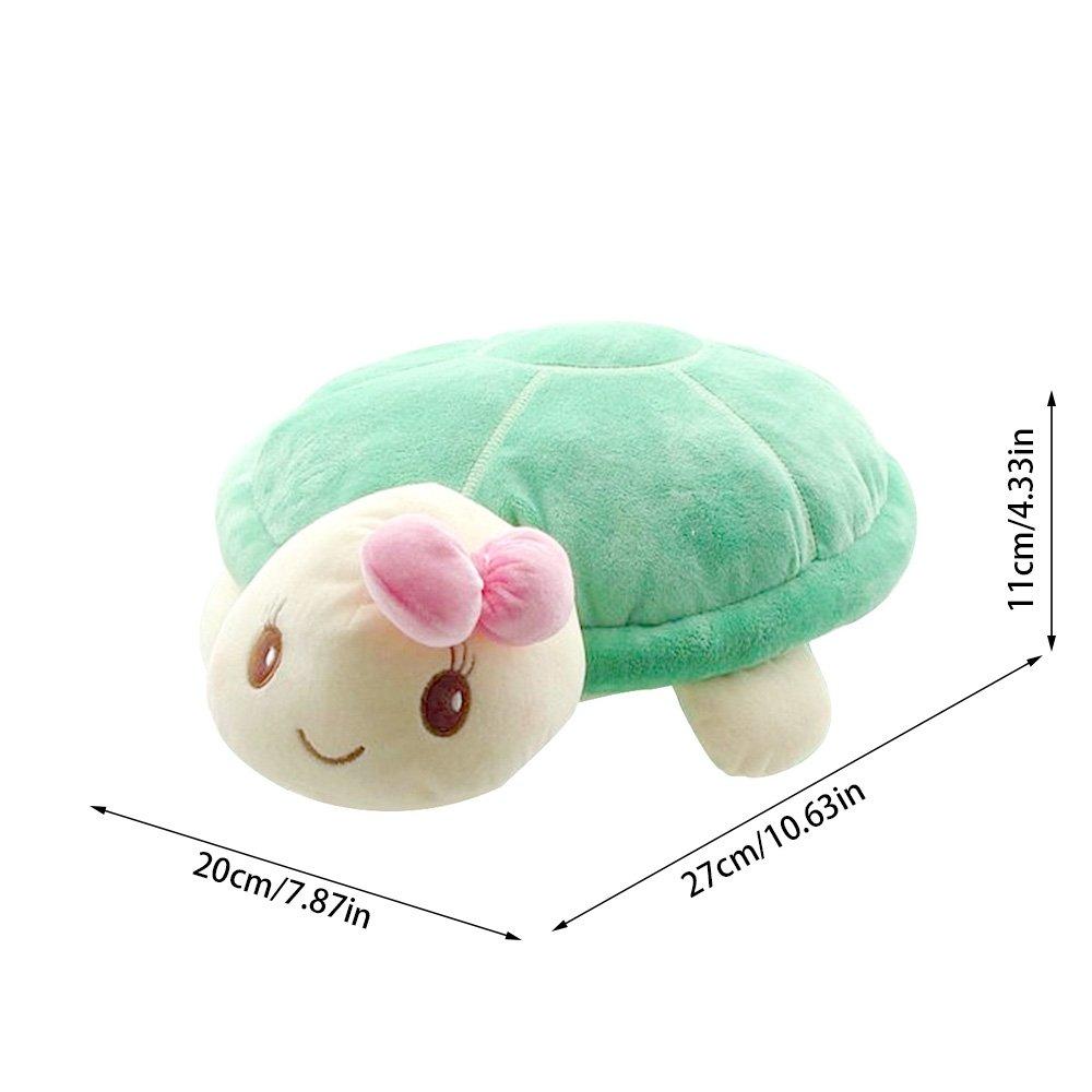 Cute Sea Animals Kids Pet Toy Valentines Day Stuffed Turtle Pillow for Girls Boys Sealive Soft Plush Turtle Stuffed Animal