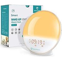HeimVision Sunrise Alarm Clock, A80S Smart Wake up Light Work with Alexa, Sleep Aid Digital Alarm Clock with Sunset…