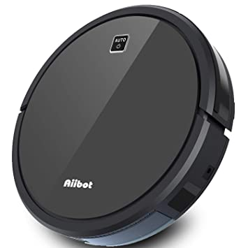 Aiibot V9S Robot Aspirador Función de Reserva Inteligente Giroscopio Fuerte Succión Limpieza Perfecta 1800Pa Ventilador sin Escobillas con Sensor ...