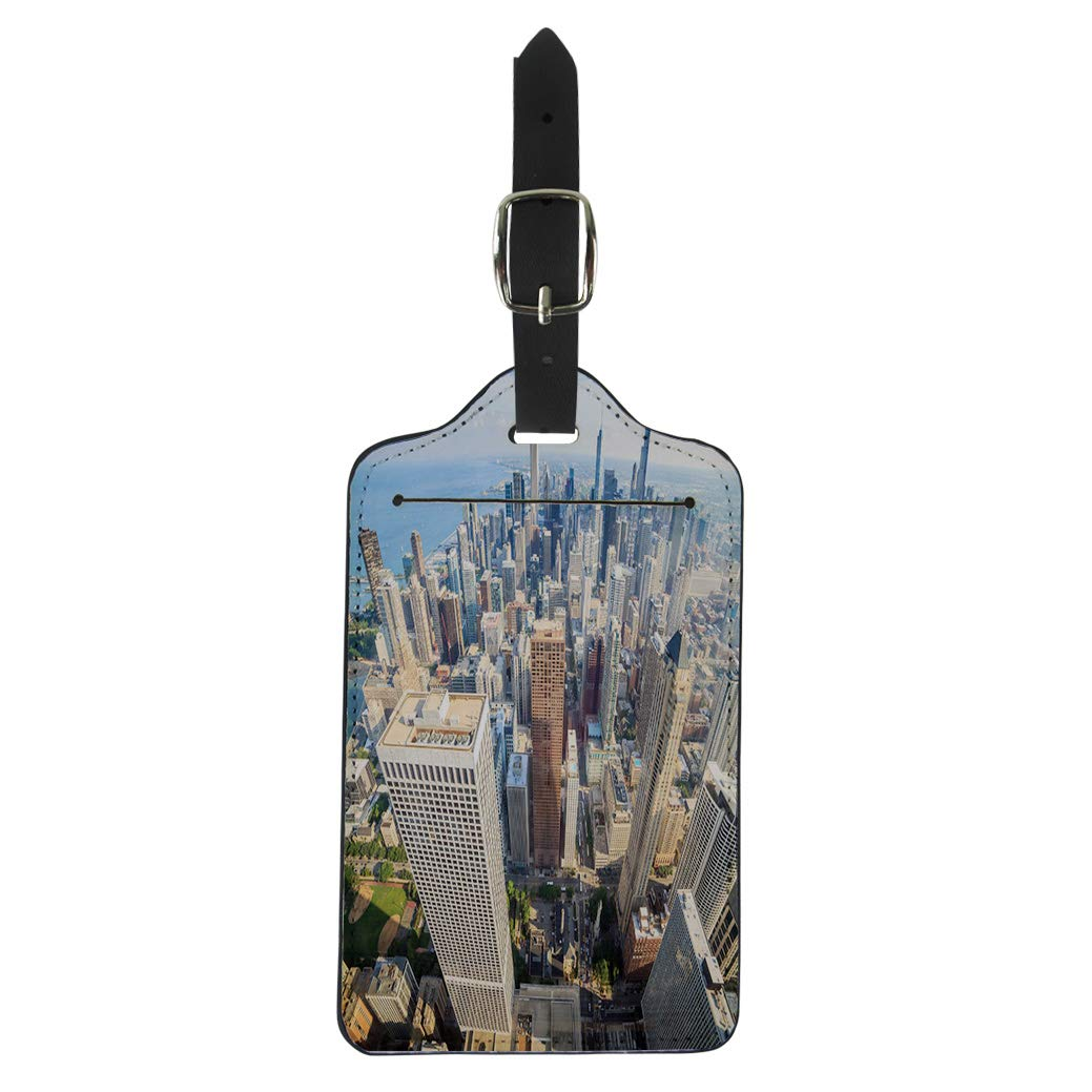 Map Of Uk No Labels.Amazon Com Semtomn Luggage Tag Map Of Gloucestershire In South West
