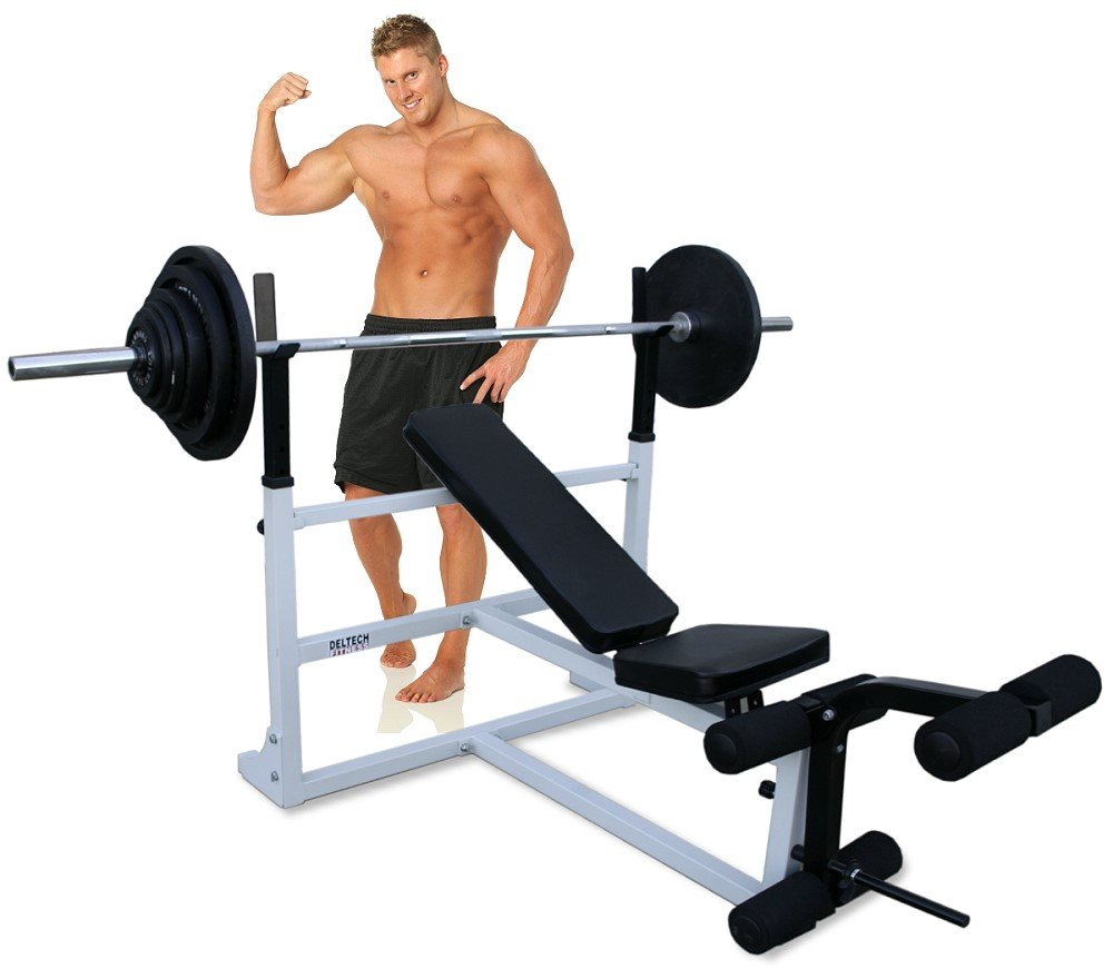 Olympic Weight Bench by Deltech Fitness