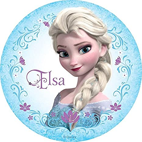 Amazon.com: Elsa de Frozen Anna Comestible Decoración Para ...