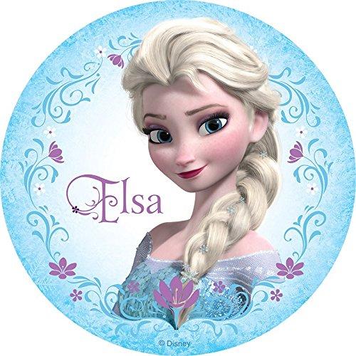 Frozen Elsa Anna comestible hoja de imagen foto decoración ...