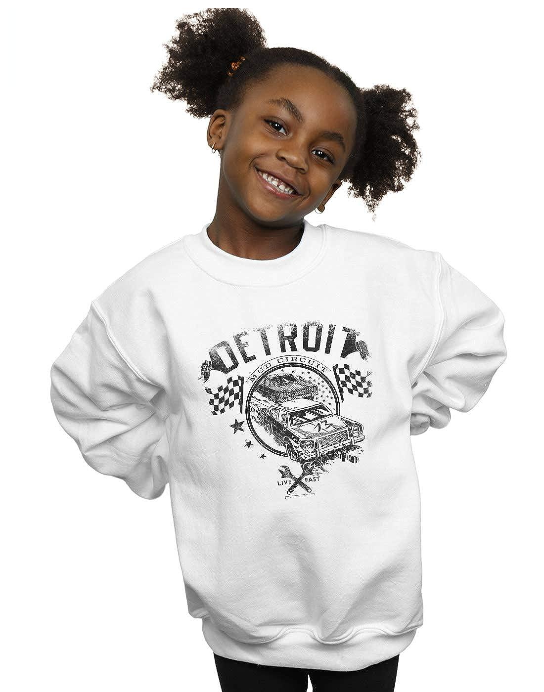 Drewbacca Girls Detroit Racer Sweatshirt