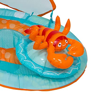 Amazon.com: SwimWays Inflatable Baby Spring Lobster Pool ...