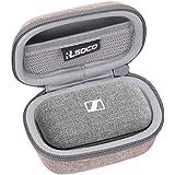 RLSOCO Bärfodral för Sennheiser MOMENTUM True Wireless2 / True Wireless In-Ear hörlurar (Beige)