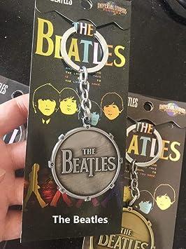 JJZHY The Beatles Hard Rock Band Metal Llavero Colgante ...