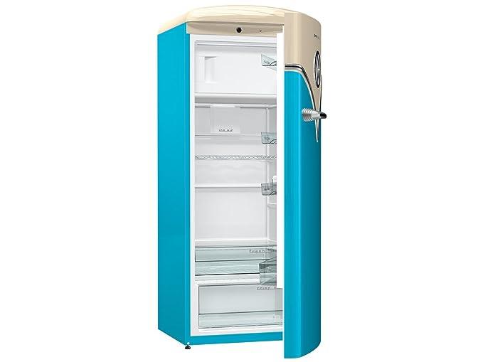 Smeg Kühlschrank Anschlag Wechseln : Goreje obrb bl kombi kühlschrank l a frei stehend