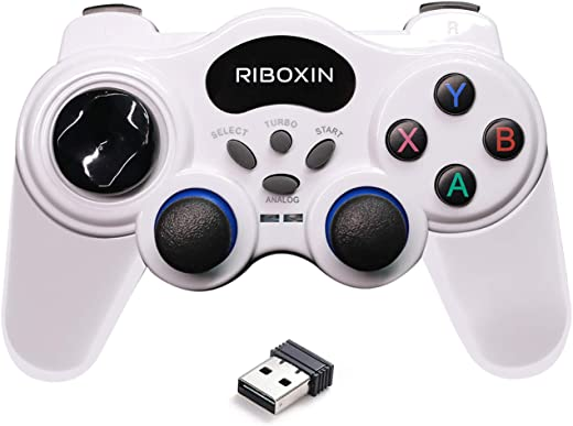 【Turbo New】 PC Controller Wireless Controller USB Gaming Controller for...