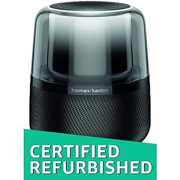(CERTIFIED REFURBISHED) Harman Kardon Allure Wireless Speaker System with Amazon Alexa (Black) <span at amazon