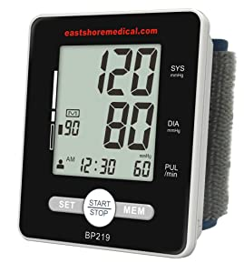 Eastshore Bp219 Wrist Blood Pressure Monitor with Talking Function, MWI Technology, Heart Level Detector
