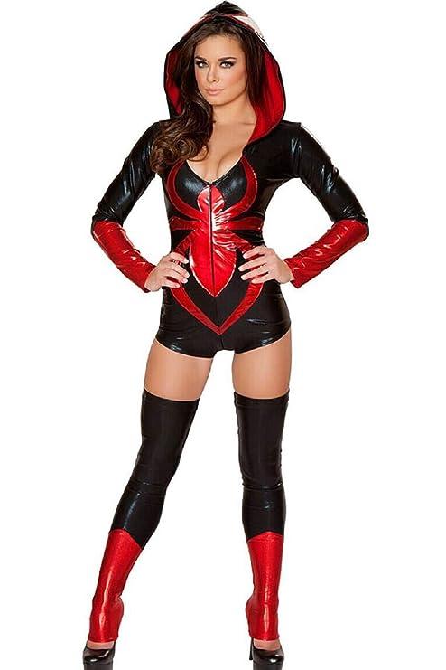 Top Totty Disfraz de Viuda Negra Sexy: Amazon.es: Productos ...
