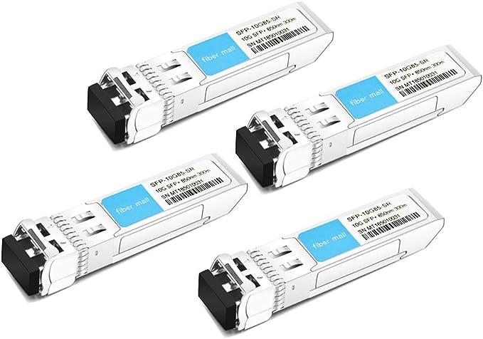 SR transceiver for multimode Fiber Connections up to 300 Meters J9150D Aruba 10 Gigabit SFP