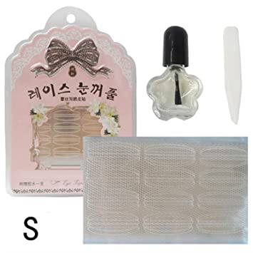 Durable Travel Accessories Invisible Lace Double Eyelid Sticker Eye