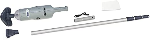 Intex 28620 - Aspiradora manual con eje de aluminio telescópico: Amazon.es: Jardín
