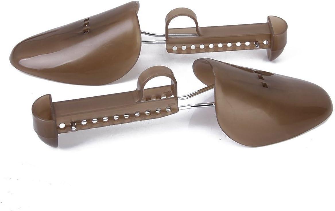 Pixnor Paire dembauchoirs r/églables en plastique pour chaussures dhomme Tendeur Tendeur bottes Marron