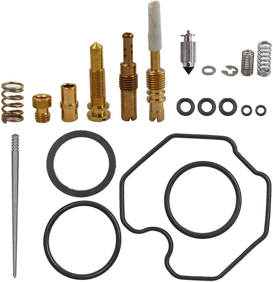 Carburetor Carb Rebuild Repair Kit Fits for 1997-2005 Honda TRX250 Recon250