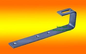10 Stk Befestigungsmittel Dachhaken Photovoltaik Edelstahl