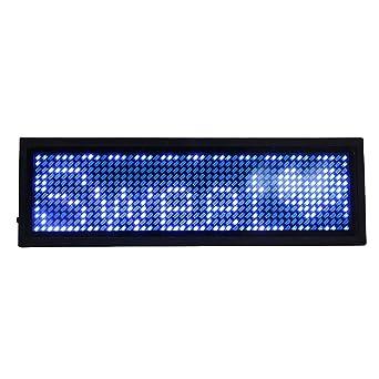 LED Abzeichen Name Tag Scrolling Bar Abzeichen Message Board Display Zeichen