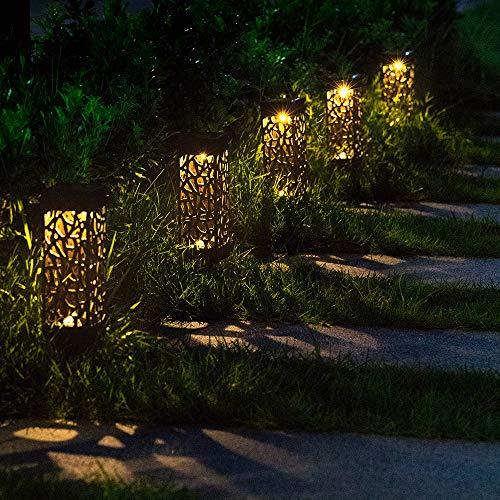 Solar Outdoor Lights Uae: BEAU JARDIN Solar Lights Outdoor Garden Powered Path