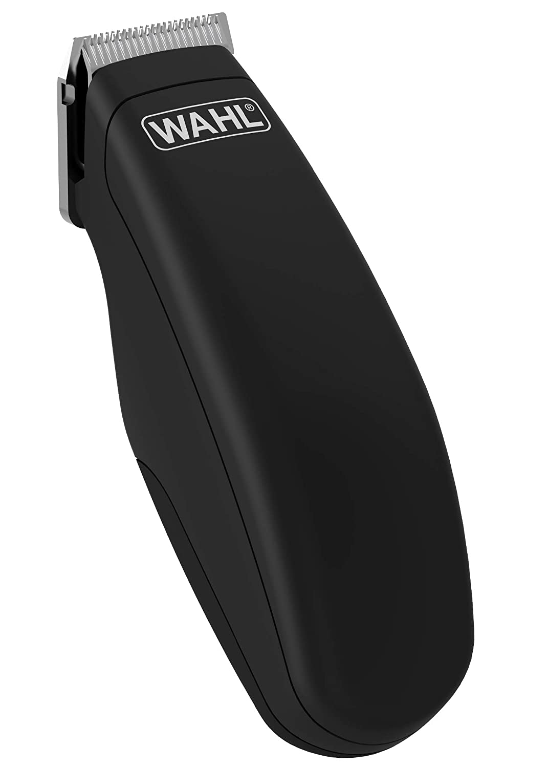 Wahl Pocket Pro Hair Trimmer Battery Black Rubberised 8066-717