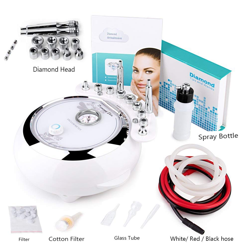 [Upgrade Version]3 in 1 Diamond Microdermabrasion Machine Big Suction, MYSWEETY Facial Care Salon Equipment for Personal Home Use (Suction Power: 65-68cmhg) by MYSWEETY (Image #7)
