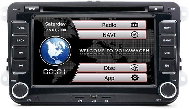 henhaoro - Reproductor de Radio estéreo para Coche, DVD, GPS ...
