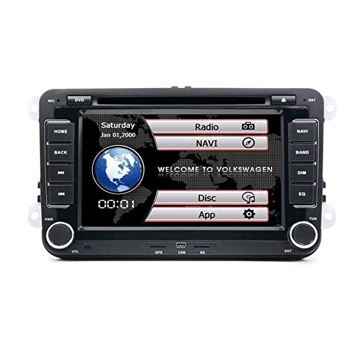 henhaoro - Reproductor de Radio estéreo para Coche, DVD, GPS, para ...