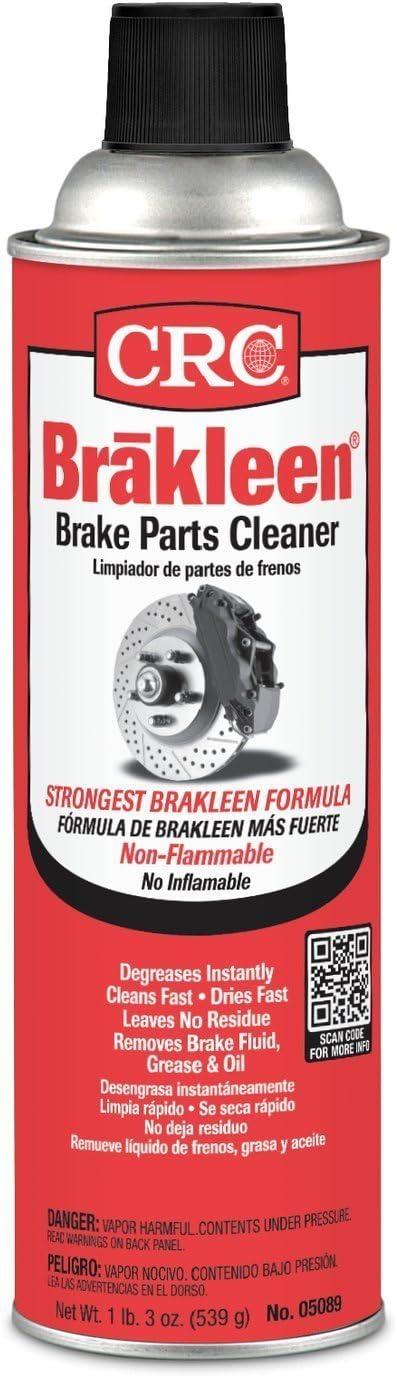 CRC Industries (CRC05089) Brakleen Brake Parts Cleaner, 19 oz Can, 12 per Pack