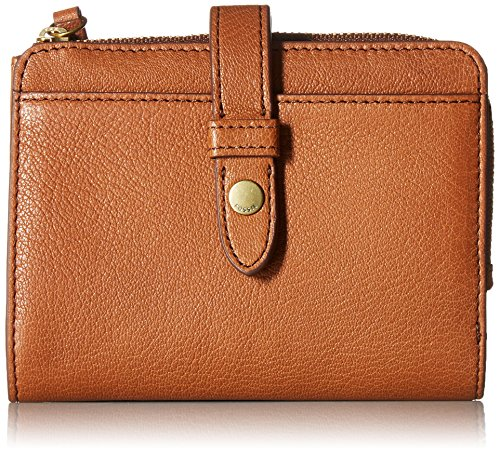 (Fossil Fiona Multifunction Wallet, Saddle)