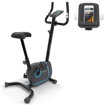 Klarfit Myon Cycle - Bicicleta estática, Volante de inercia de ...